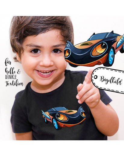 Bügelbild Fahrzeug