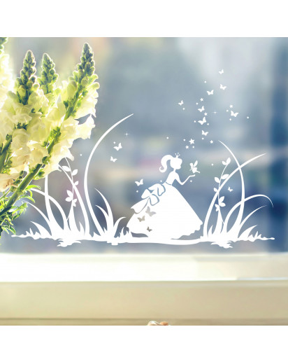 Fensterbild Prinzessin Cinderella