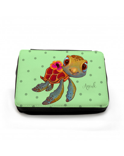 Federmäppchen Schildkröte