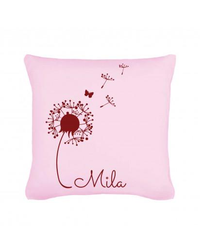 Kissen Pusteblume mit Namen Pillow Dandelion with Name