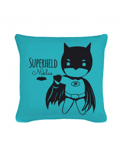 Kissen Superheld mit Wunschnamen inklusive Füllung Pillow superhero with custom name including filling