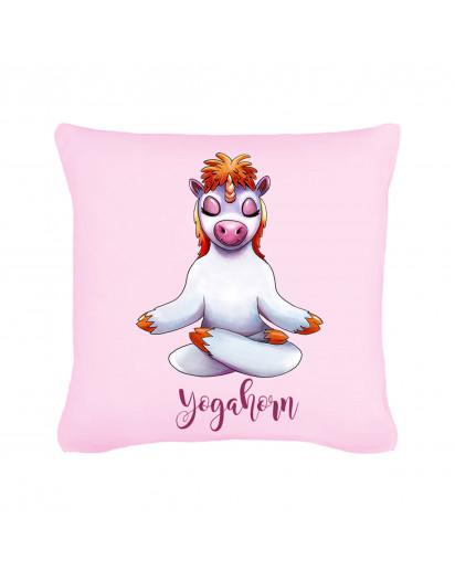 Kissen Yogahorn