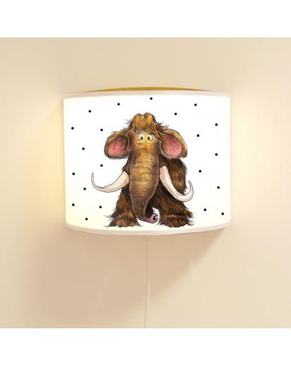 Kinderlampe Mammut