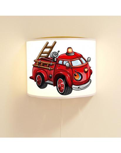 Kinderlampe Feuerwehr