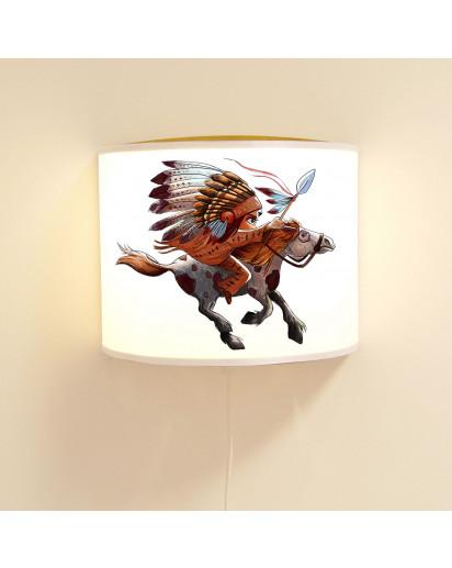 Lampe Indianer