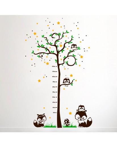 Messlatte Baum