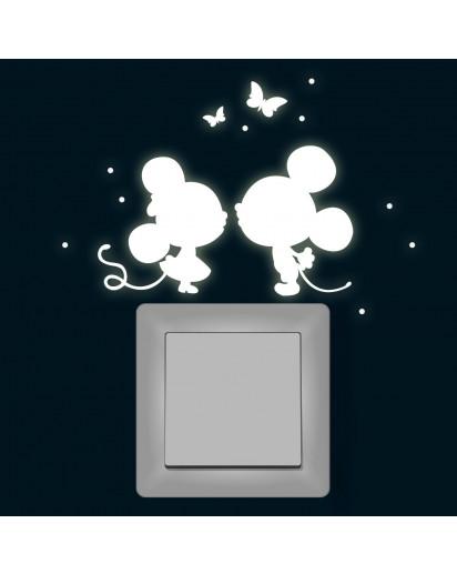 Lichtschalter Tattoo Mäuse
