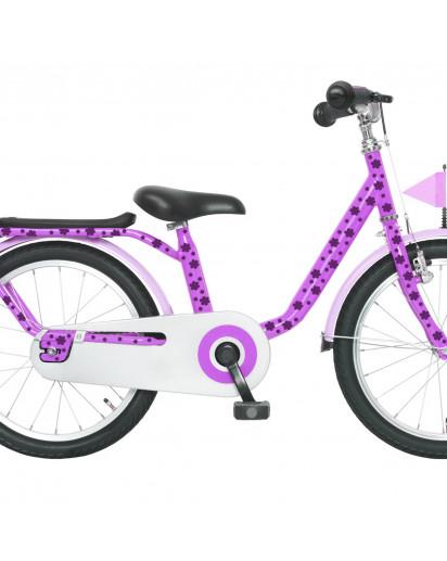 Fahrrad Aufkleber Blüte