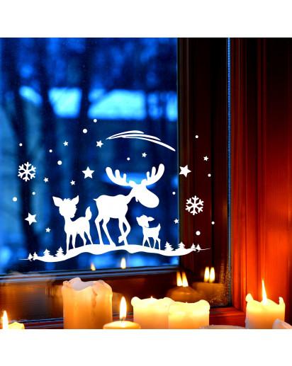 Fensterbild Winter