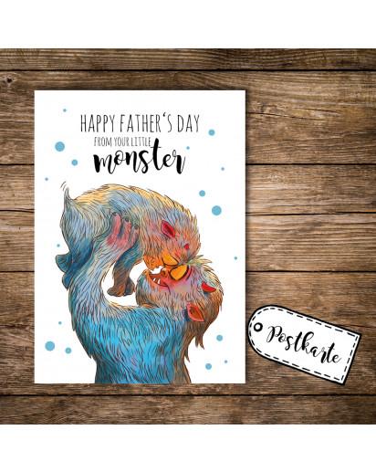 Postkarte Vatertag