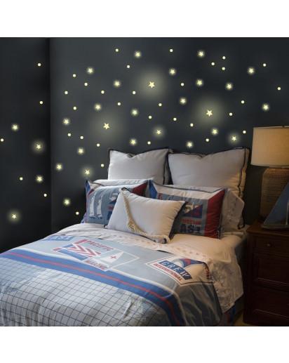 Wandtattoo Sternenhimmel