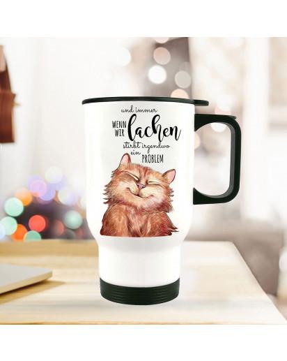 Thermobecher Katze