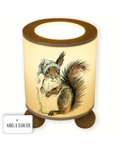 Tischlampe Eichhörnchen ready to dream table lamp squirrel ready to dream tl029