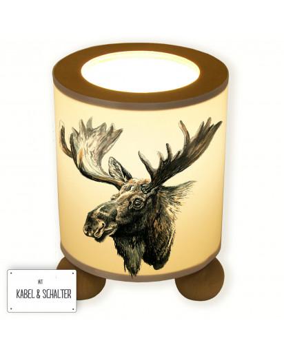 Tischlampe Elch Sören table lamp elk Sören tl030