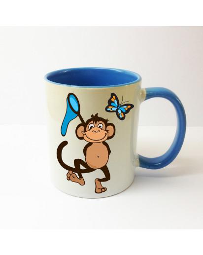 Tasse Affen
