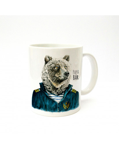 Tasse Papa Bär Seemann cup father bear sailor ts215