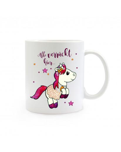 Kaffeebecher Einhorn