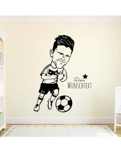 Wandtattoo Fußball Mario