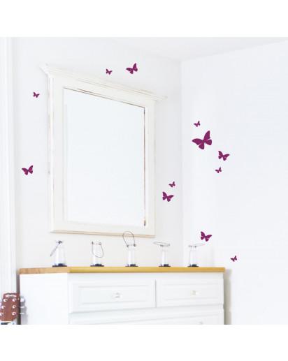 Schmetterline-sticker
