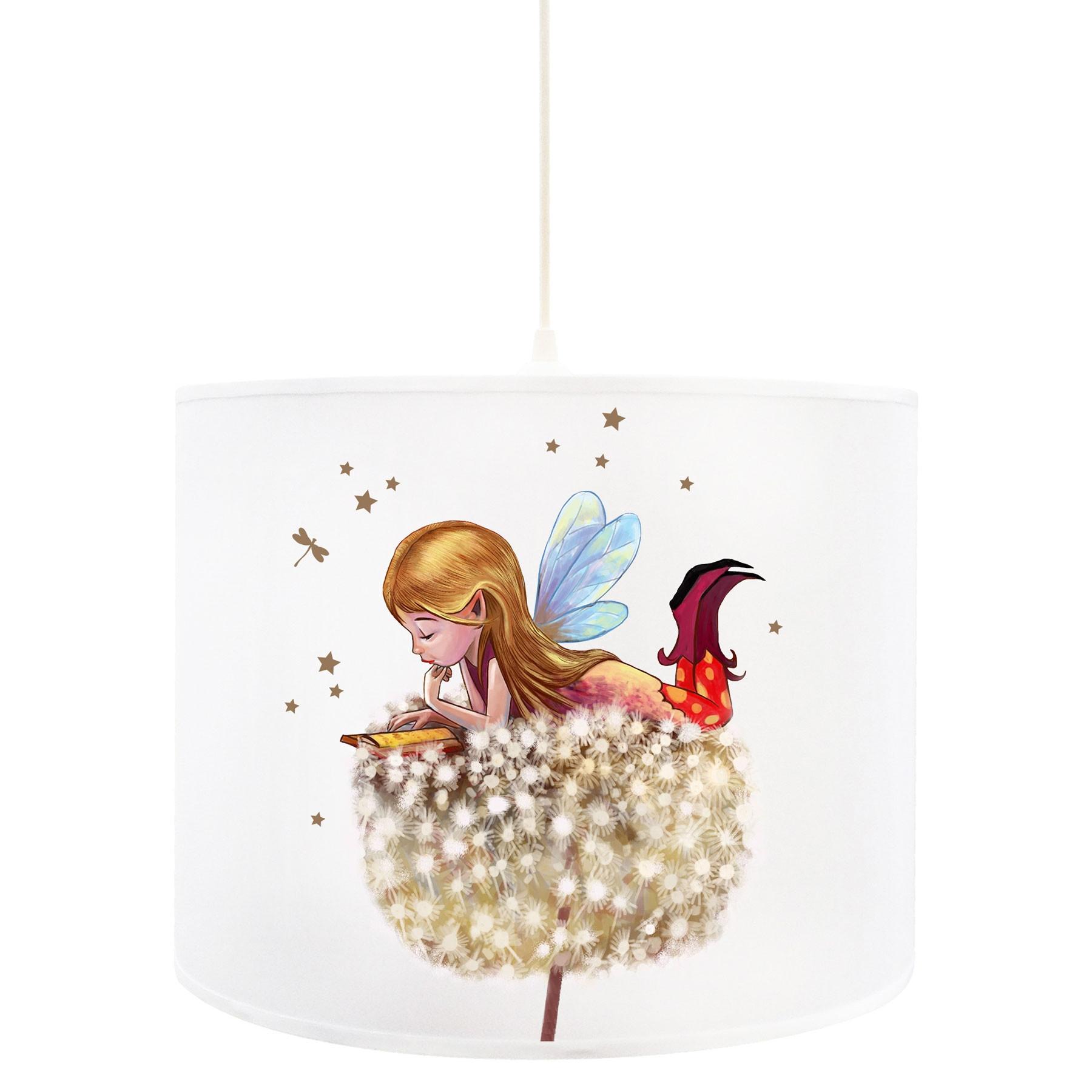 deckenlampe fee lampe deckenleuchte elfe fee auf. Black Bedroom Furniture Sets. Home Design Ideas