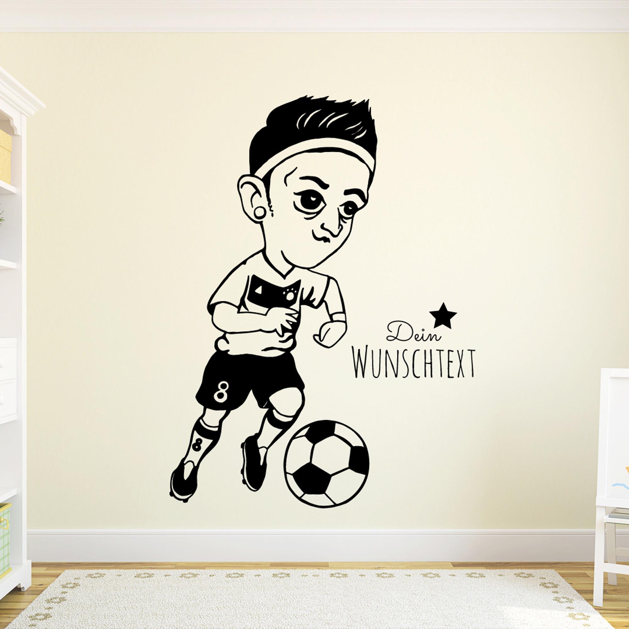 Entzückend Wandtattoo Fußball Sammlung Von Fußball Mezut
