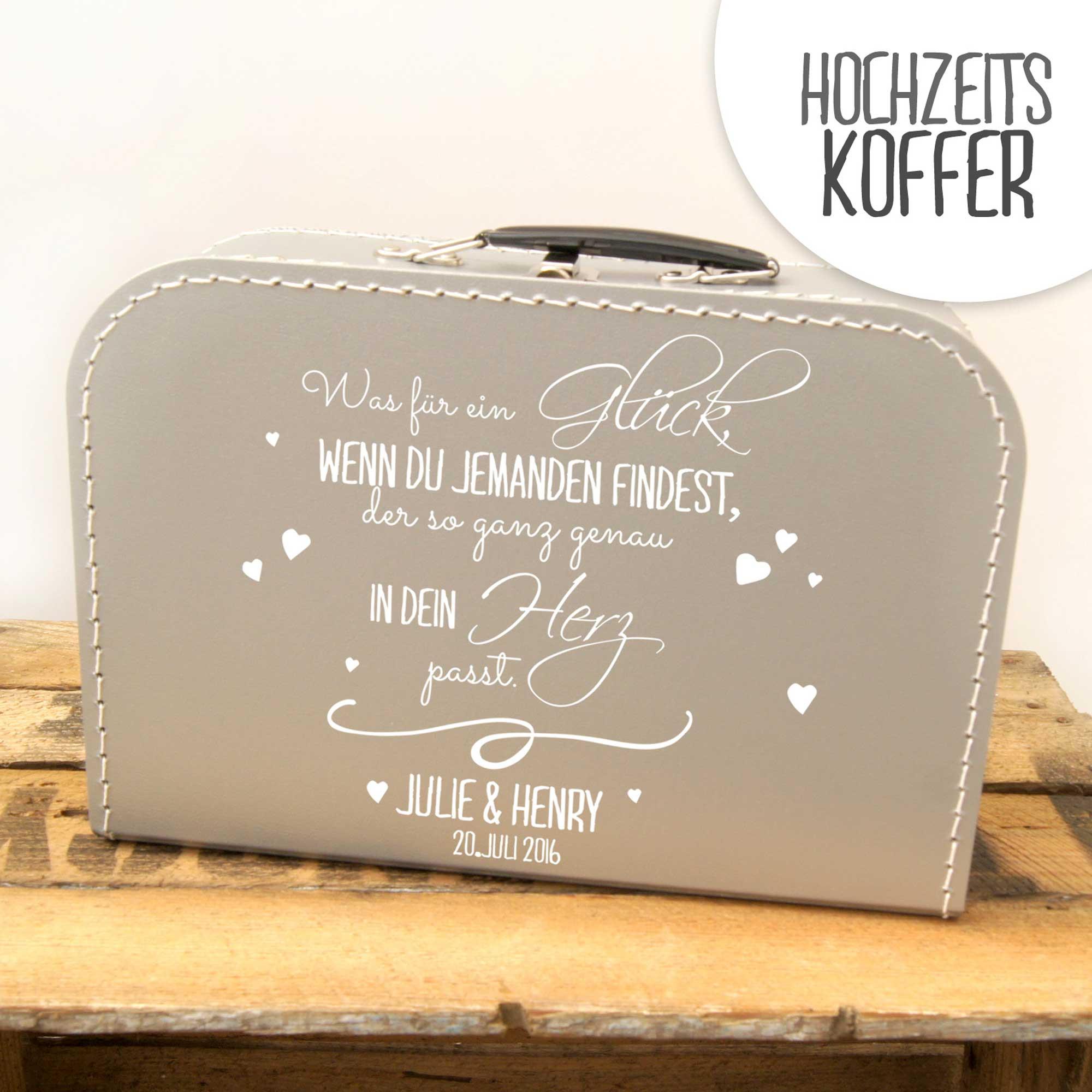 Kinderkoffer Koffer Zitat Spruch Glück Herz Wunschnamen Kos9