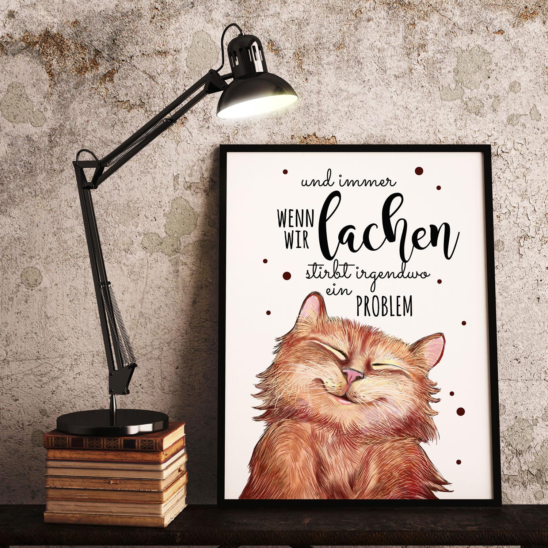Spruch Katze