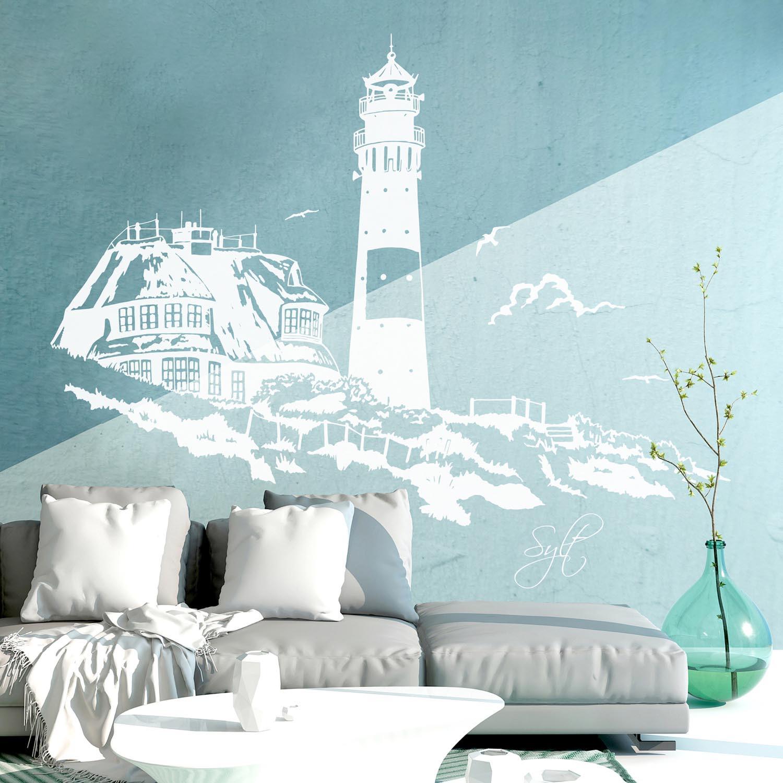 wandtattoo sylt nordsee meer urlaub d nen m1875. Black Bedroom Furniture Sets. Home Design Ideas