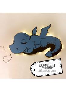 Wandlampe Kinderlampe Schlummerlampe schlafender Baby Drache M2039