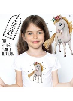 Bügelbilder Applikation Pferd Pferdchen Bügelbild Patch Bügelmotiv Aufbügelbilder Kissen Shirt Taschen bb173