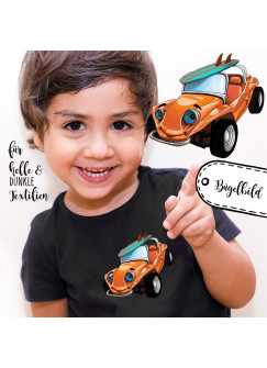 Bügelbilder Applikation Auto Surfmobil Bügelbild Bügelmotiv Fahrzeug Aufbügelbilder für Jungs bb059