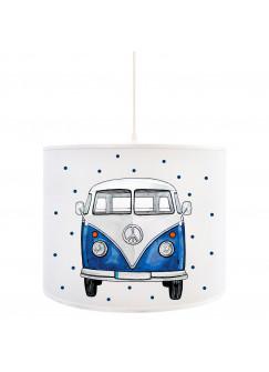 Deckenlampe Bulli Lampe Deckenleuchte Surfbus Autobus & Punkte Lampe Kinderlampe D84
