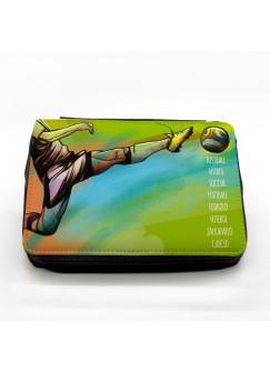 Gefüllte Federtasche Fußball Welt Soccer fm040