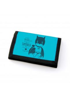 Portemonnaie Geldbörse Brieftasche Superheld mit Spruch sei immer du selbst gf52