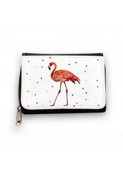 Geldbörse Flamingo mit Punkten gk082