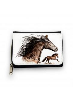 Geldbörse Wildpferd Wildpferde Pferd Pferde gk069