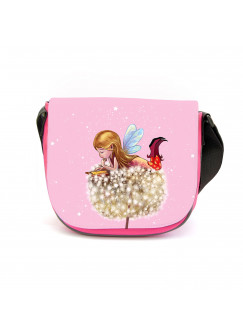 Kindergartentasche Elfe Fee Kindertasche mit Elfe Pusteblume & Wunschname kgt25
