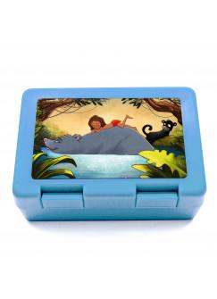 Lunchbox Brotdose Dschungelfreunde mit Kind Bär Panther & Wunschnamen LB05