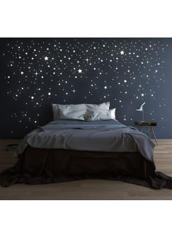 Riesen Sternenhimmel Sterne Leuchtsterne fluoreszierend M1228