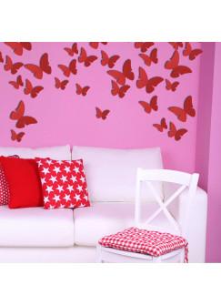 3D Schmetterling Schmetterlinge Wanddekoration M1250