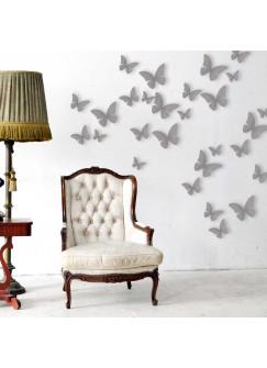3D Schmetterling Schmetterlinge Wanddekoration M1258