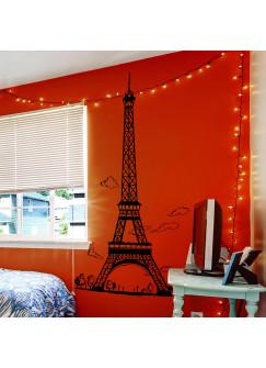 Wandtattoo Eiffelturm Paris Frankreich M1489