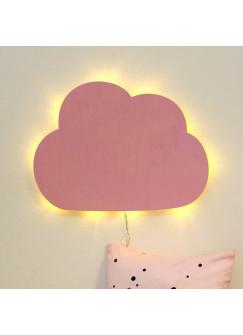 Wandlampe Kinderlampe Wolke Wölkchen Schlummerlampe in rosa M2032