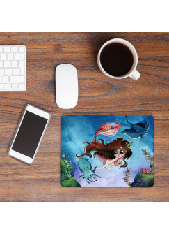 Mousepad mouse pad Mauspad mit Meerjungfrau mit Freunde Mausunterlage bedruckt mouse pads mp82