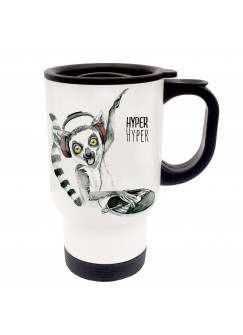 Thermobecher DJ Lemur Diskjockey Hyper Hyper tb016
