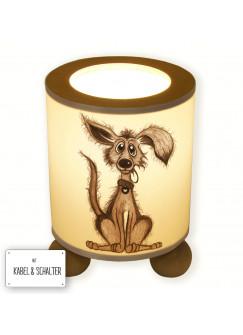Tischlampe süßer Hund Hündchen tl022