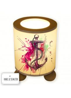 Tischlampe Anker mit Tau maritim tl024