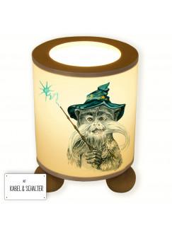 Tischlampe Zauberer Merlin tl031