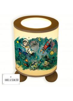 Tischlampe Weltraum Raketen Astronaut tl035