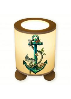 Tischlampe Anker mit Tau maritim tl041
